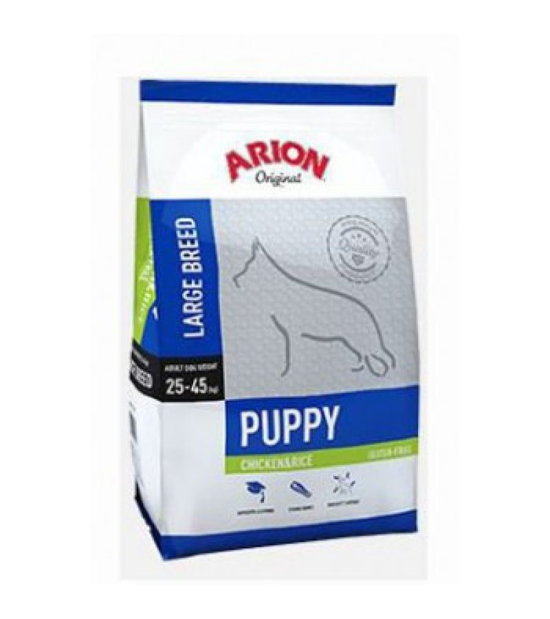 ARION Original Puppy Large Chicken & Rice 3 kg