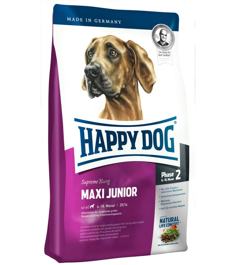 HAPPY DOG Maxi junior gr23 15 kg
