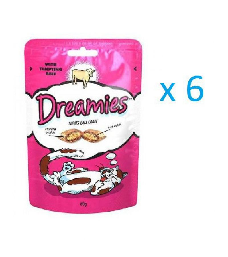 DREAMIES говядина 0.06 kg x6
